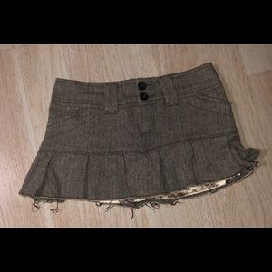 ABERCROMBIE & FITCH Skirt Flannel